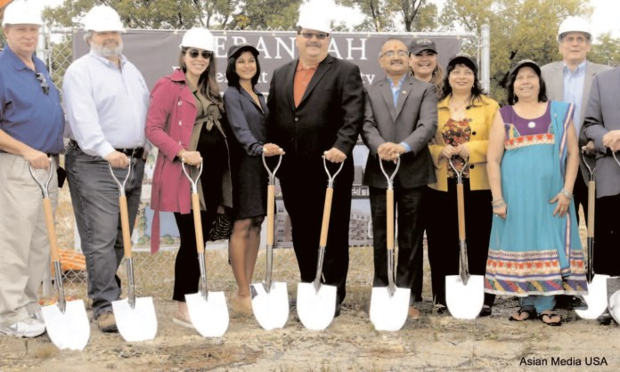Ground-breaking celebrations at the property attended by Mayor Rodney S. Craig, and leading members from the community