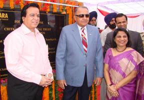Foundation Laid at Chitkara  Chandigarh campus at Education  City