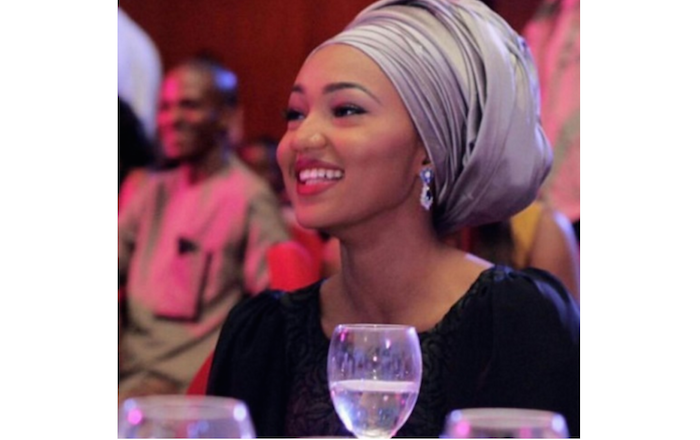 Zahra Buhari steps out for an event in Abuja looking like this.. (See Photos)