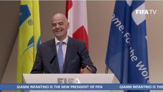 Gianni Infantino emerges as new FIFA President theinfong.com