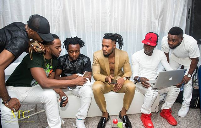 Flavour steps out in style for Ghana concert (photos)