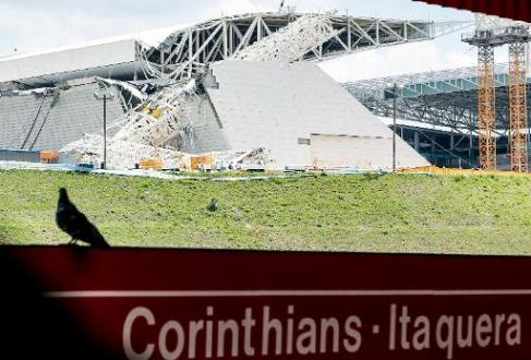 Sao Paulo accident venue ready mid-April, FIFA says