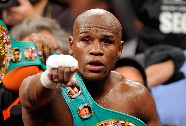 Floyd Mayweather Confirms Opponent For His Last Fight
