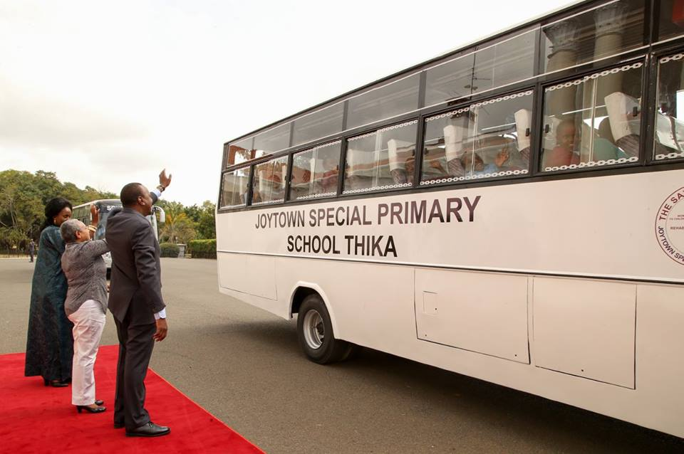 President Uhuru: Parents should stop too much 'exam pressure' (PHOTOS)