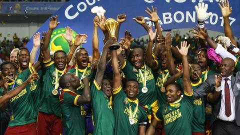 Cameroon beat Egypt to lift African cup