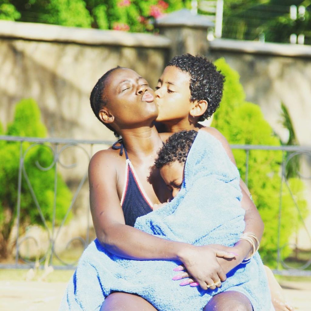 I will not give you my kid, Akothee tells ex-hubby