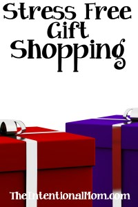 Stress Free Gift Shopping
