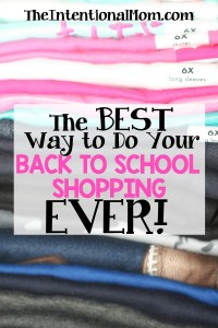 The Best Way to Do Your Back to School Shopping Ever!