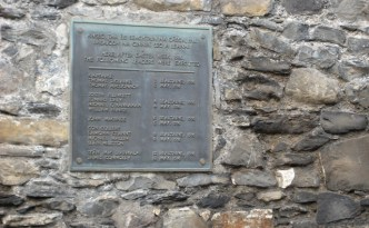 Plaque To The Leaders of the Rising
