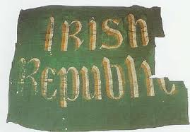 The republican flag flown in 1916
