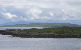 Rusheen Islet today, viewed from Inishkea South