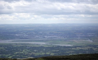 dundalk from cooley mtns