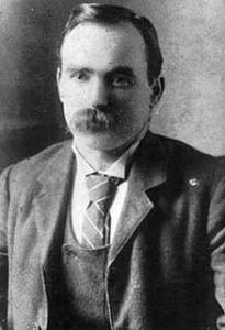 James Connolly, principle Irish theorist of the general srike.