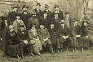 The Pact Committee at the Mansion House, May 1922.