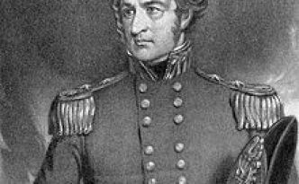 Major General Robert Patterson, born in Cappagh, County Tyrone.