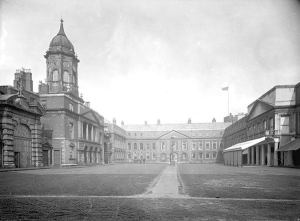 Dublin Castle, centre of the British administration.