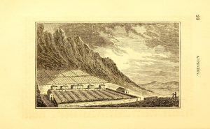 2.Achill Missionary Settlement from John Barrow, A tour round Ireland through the sea-coast counties in the autumn of 1835 (Appendix).