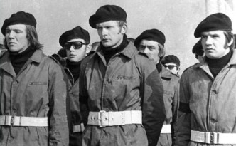 McGuinness in IRA uniform.