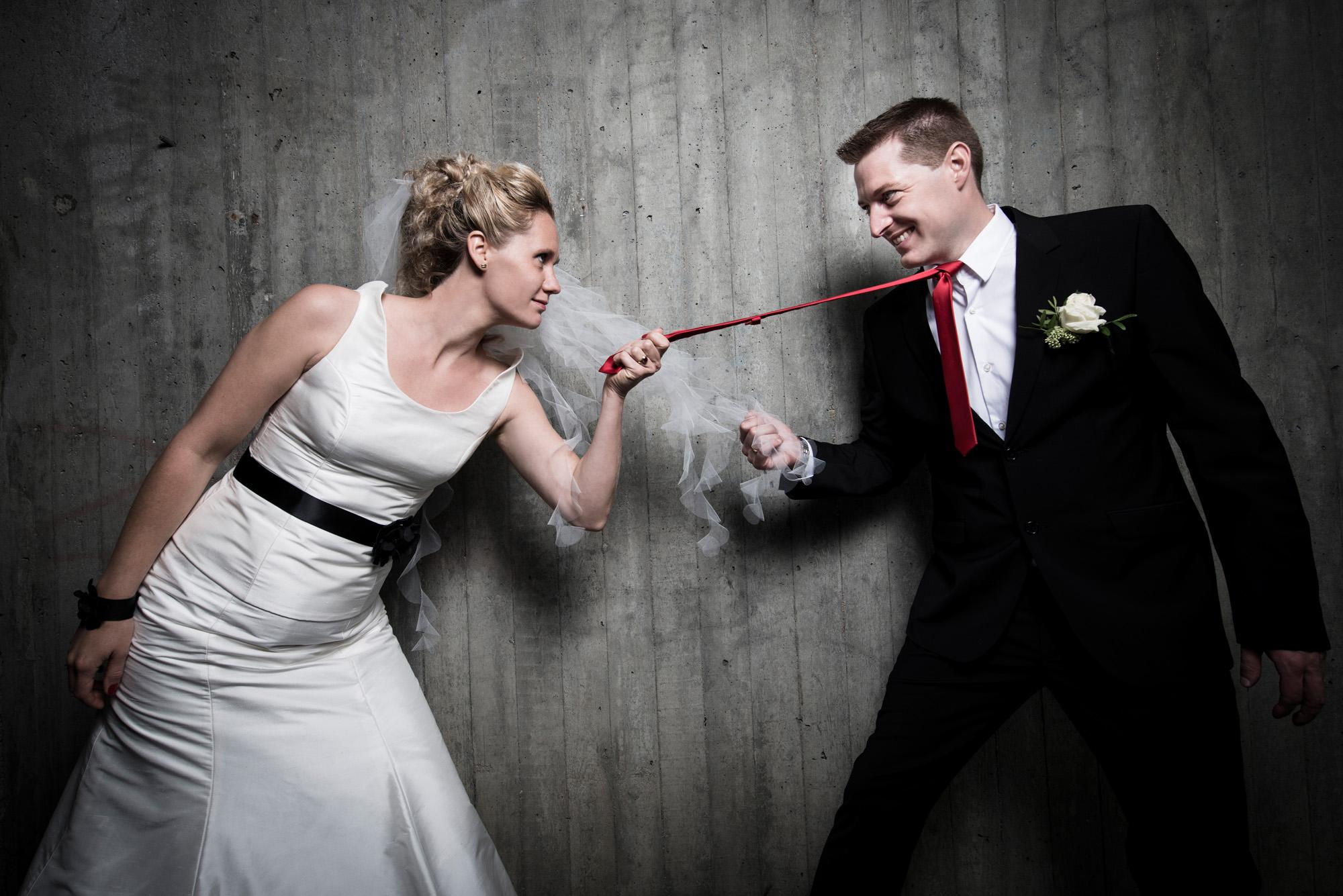 Sjov & anderledes bryllupsfotografering
