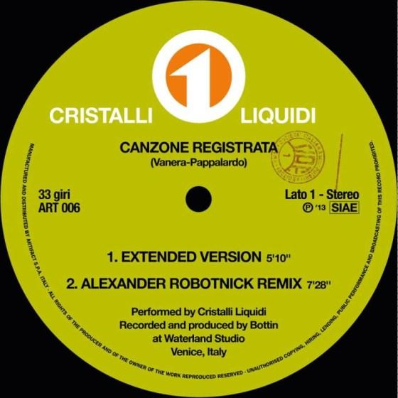 cristalli liquidi - canzone registrata (adriano pappalardo cover bottin) (robotnick remix)