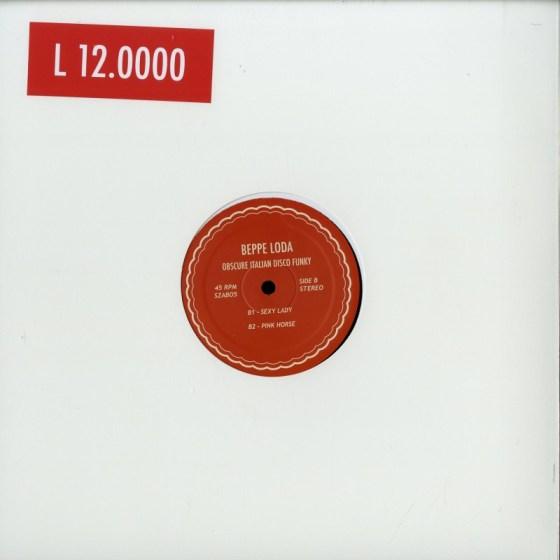 Beppe Loda - Obscure Italian Disco Funky