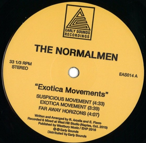 The Normalmen - Exotica Movements [Early Sounds Recordings]