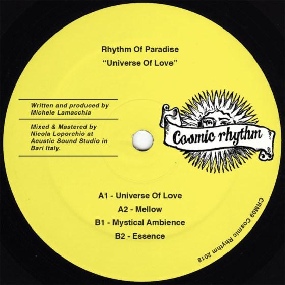 Rhythm Of Paradise - Universe Of Love [Cosmic Rhythm]