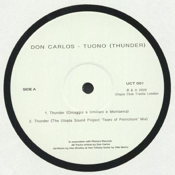 Don Carlos - Tuono (Thunder) [Utopia Records]