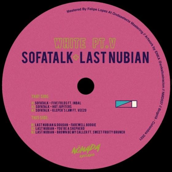 SofaTalk / Last Nubian - White Pt.V [Nómada Records]