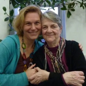portrait Barbara Sher and Ann-Sofi Eriksson