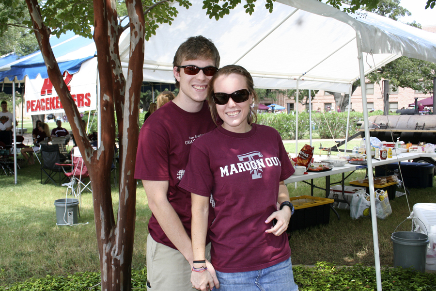 tailgating before some aggie football [photo by emily jarratt]
