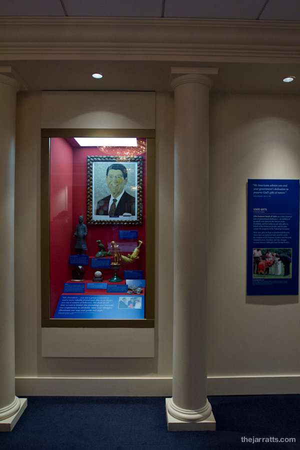 Reagan exhibits - Gifts of State