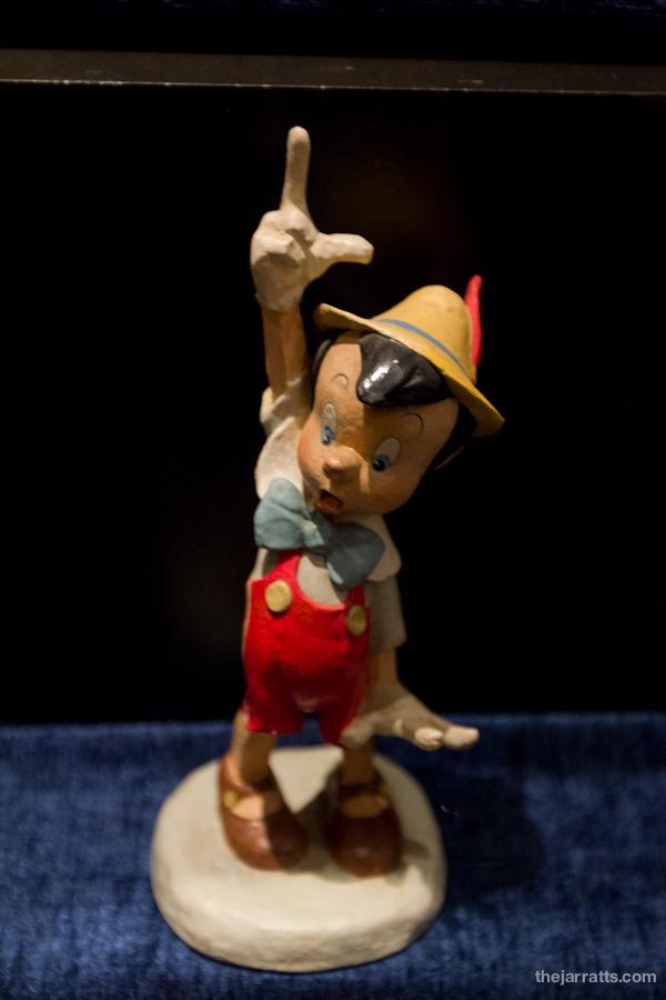Pinocchio maquette
