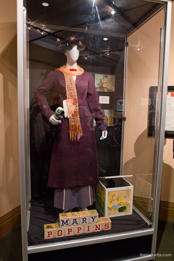 Mary Poppins costume and props