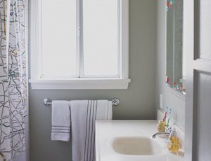 home tour: the bathroom