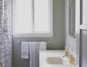 home tour: the bathroom