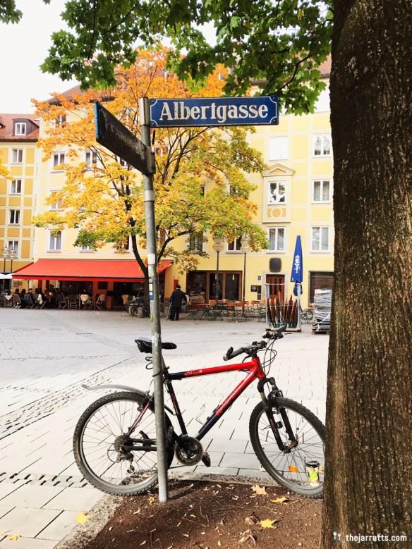 """Albert alley"" near the Dom"