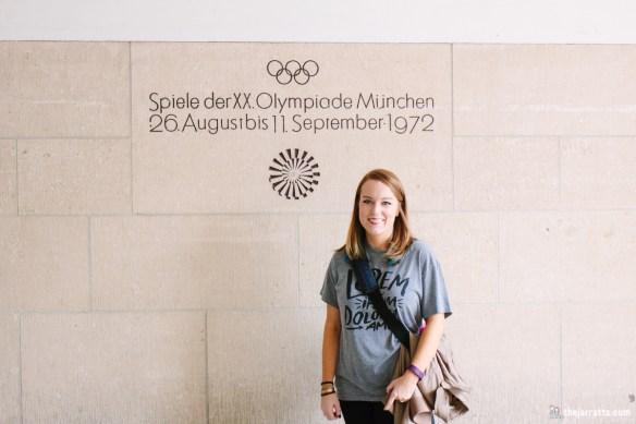 Savannah loves the Olympics!