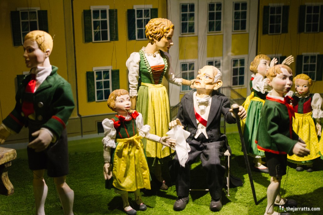 Marionettes of the Von Trapp family
