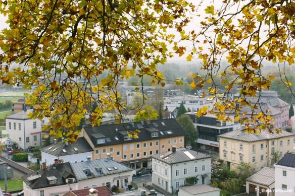 Headed up the hill toward Nonnberg Abbey
