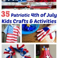 35 Patriotic 4th of July Kid Crafts & Activities