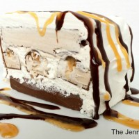 Snickers® Cake! Snickers Ice Cream Bars Cake Recipe + $100 Walmart Gift Card Giveaway