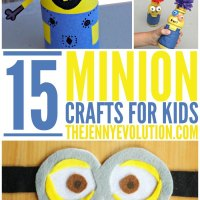 15 Creative Minion Crafts for Kids