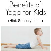 Sensory Benefits of Yoga for Kids