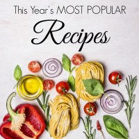 Most Popular Recipes of the Year!