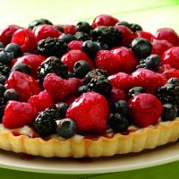 Fresh Mixed Berry Tart Recipe