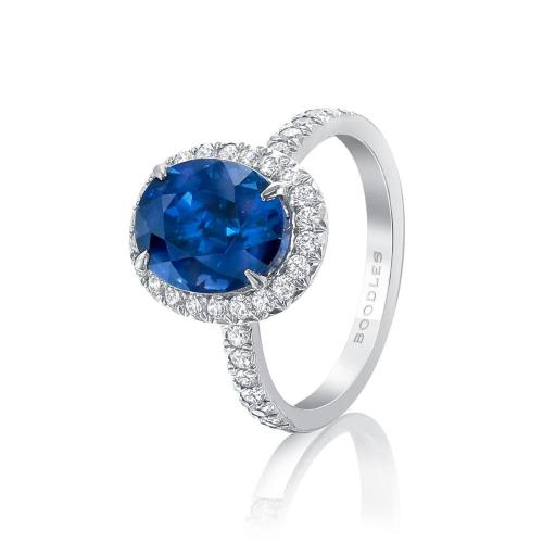 Medium Of Sapphire Engagement Rings