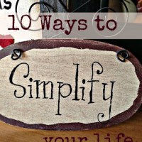 Monday Motivation: 10 Ways to Simplify Your Life