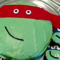 Easy Teenage Mutant Ninja Turtles Cake