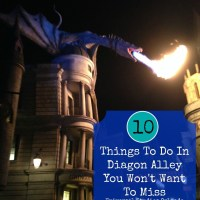 Top 10 Things To Do In Diagon Alley